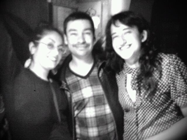 Una de las mejores fotos de la vida del mundo mundial en Maestra Vida. Cumpleaños 2012 junto a los queridisísimos de Clau Cantillana y Cristóbal Montes