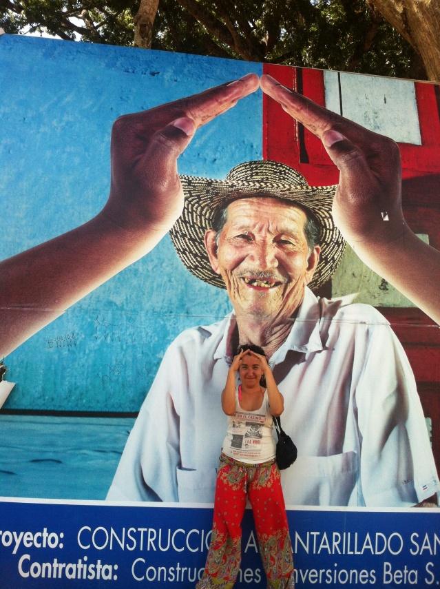 Pucha que es boni el país de la cumbia. Guane, Santander. Colombia.