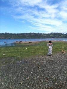 El agua yo y el perro
